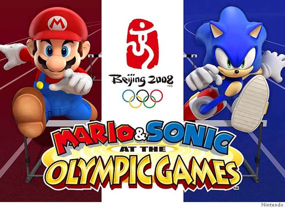 Video game characters Mario (L) and Sonic the Hedgehog are shown in this undated handout image provided by Sega to Reuters March 28, 2007. Mario and Sonic The Hedgehog are teaming up for a video game featuring the Beijing Olympics which is due to hit the shelves by year-end, Nintendo Co Ltd. and Sega Corp. said on Wednesday. REUTERS/Nintendo/Handout (UNITED STATES). EDITORIAL USE ONLY. NOT FOR SALE FOR MARKETING OR ADVERTISING CAMPAIGNS. NO ARCHIVES. NO SALES. EUO NARCH NOSALES Photo: HO