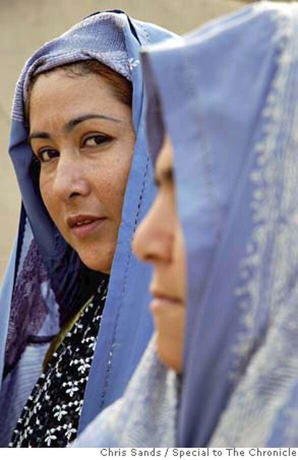 Maria Farah says life in Kandahar city was better under the Taliban. Photo by Chris Sands/Special to The Chronicle Photo: Chris Sands/Special To The Chron