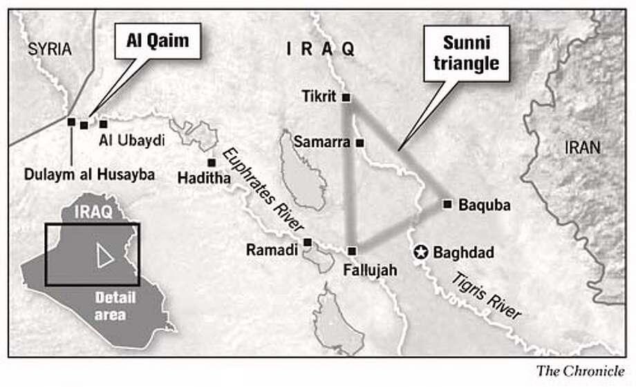 Iraq. Chronicle Graphic