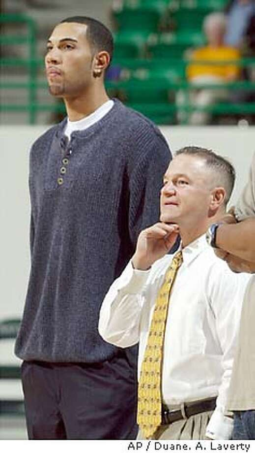 BAYLOR DENNEHY_06/29/03_COLOR_3star_A-Section_A1_10p10 width X full (mug of guy on left)_dbush 8340 Photo: DUANE A. LAVERTY