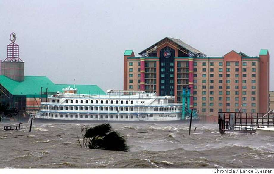 RITA24_0449.jpg_  The Isle of Capri Casino remains closed in Lake Charles after hurricane Rita's 110 mhp winds and heavy rains decimated the Southwest community. By Lance Iversen/San Francisco Chronicle Photo: Lance Iversen