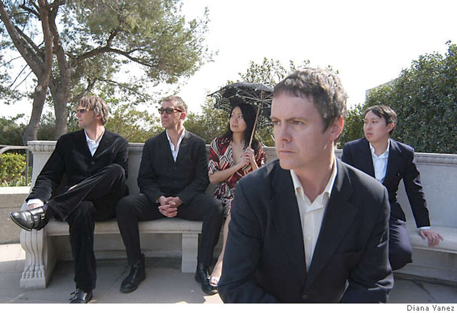 The Music Lovers: Bryan Cain, Jon Brooder, Jun Kurihara, Ted Edwards and Ping Chu. Credit: Diana Yanez Photo: Diana Yanez