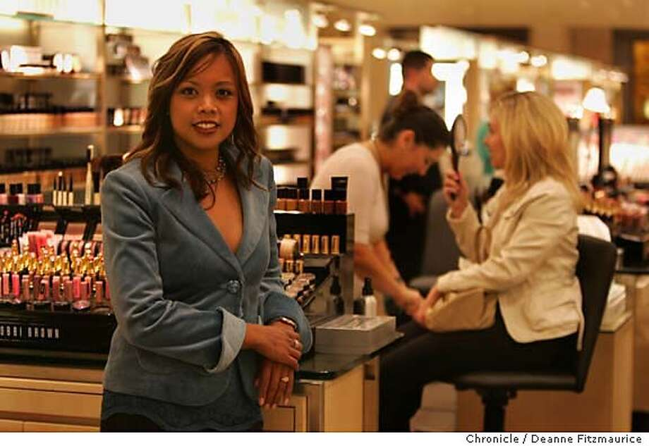 Girlynda Gonzales, RN, will be the new Nurse on Call , part of a new customer service program launched by Nordstrom. she will be available to consult with customers about the best product choices for their skin.  Deanne Fitzmaurice / San Francisco Chronicle Photo: Deanne Fitzmaurice