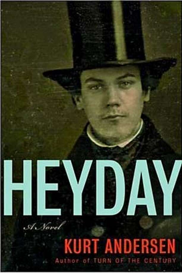 """cover of """"Heyday"""" by Kurt Andersen Photo: Ho"""