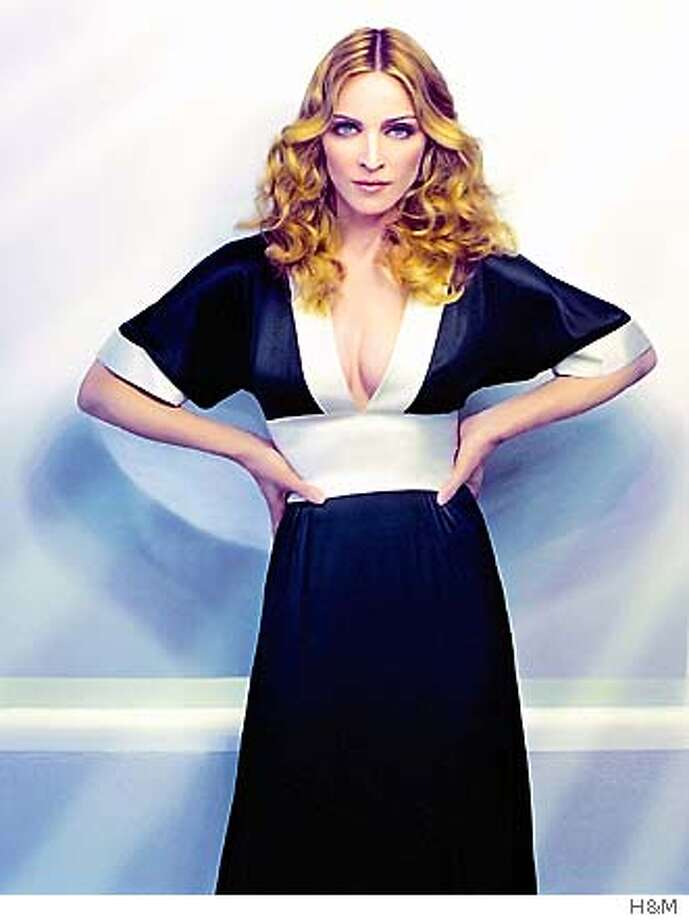 MADONNA25  WEARS H&M  photo courtesy of H&M  CAPTION INFO TK FROM SYLVIA Photo: XX
