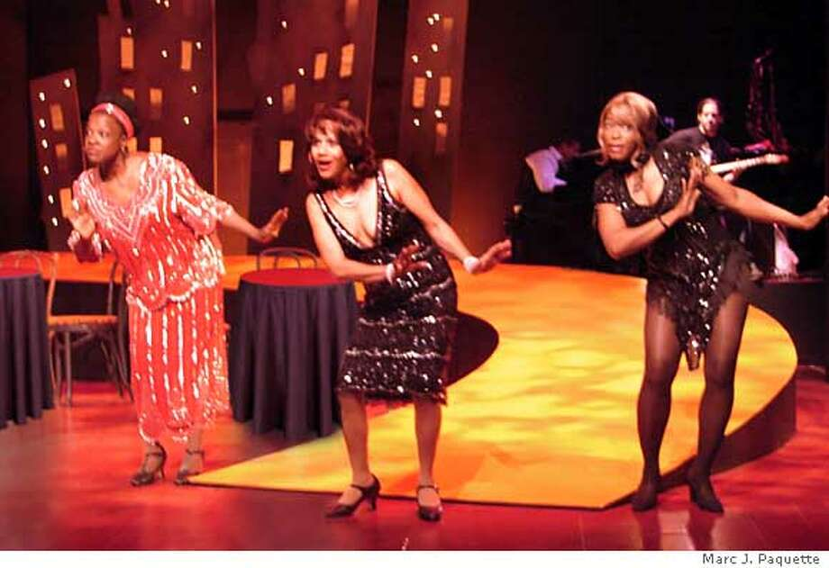 Michelle Jordan as Alberta Hunter, Peggy Blow as Ada 'Bricktop' Smith and C. Kelly Wright as Mabel Mercer in Bricktop, playing at Lorraine Hansberry Theatre, directed by Thomas W. Jones II. Photo by Marc J. P�quette  Ran on: 03-27-2007  Peggy Blow (center) plays Ada &quo;Bricktop&quo; Smith of '20s and '30s nightclub fame in &quo;Bricktop.&quo;  Ran on: 03-27-2007  David Stockman  Ran on: 03-27-2007  David Stockman Photo: Marc J. P�quette