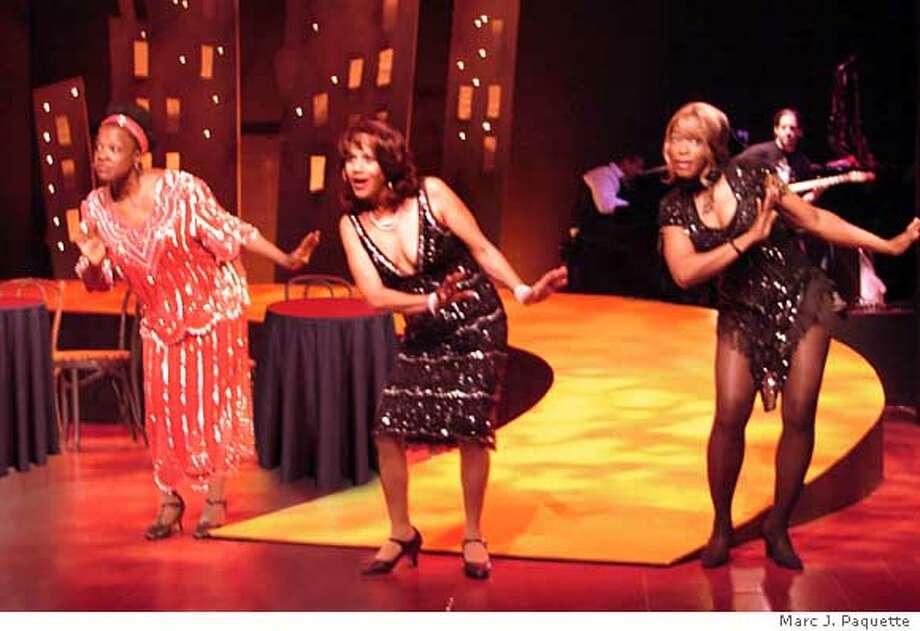 Dynamic jazz age divas host sleek party - SFGate