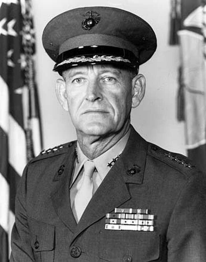 General Kenneth McLennan on 9/21/05 in . / HO