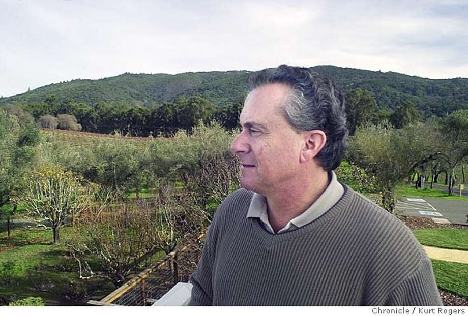 Bruce Cohn of BR Cohn Winery makes and sels high end olive oil .His olive trees were hit hard by the olive frute fly. Bruce looks over some of his olive trees. Event on 12/17/03 in Glen Ellen. KURT ROGERS / The Chronicle Photo: KURT ROGERS