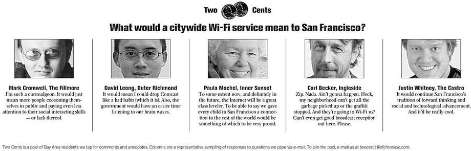 Two Cents: What would a citywide Wi-Fi service mean to San Francisco?
