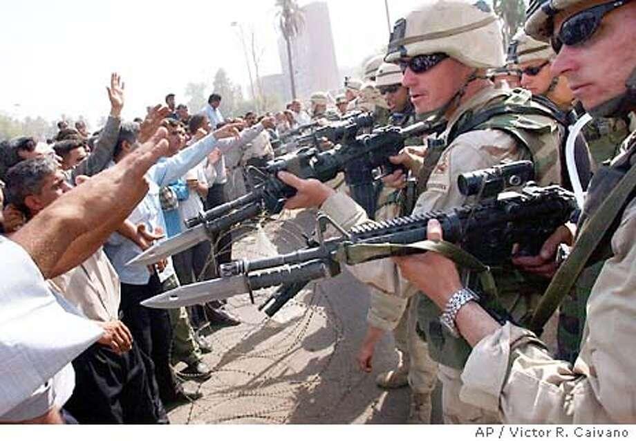 6/19/2003   B/W   5star   46p4x5.125inch   A16   A-Section   Warren, x6169   IRAQ Photo: VICTOR R. CAIVANO
