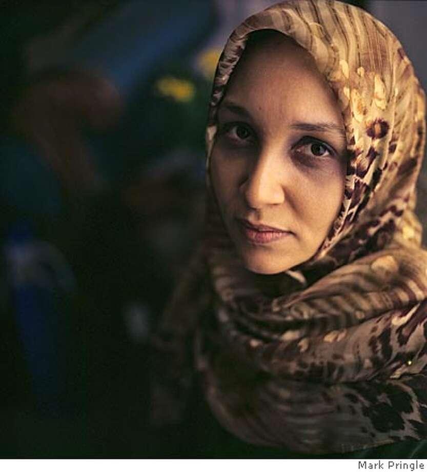 Leila Aboulela, author, London, September 2004. Photo: Mark Pringle Photo: Chandrahas Choudhury