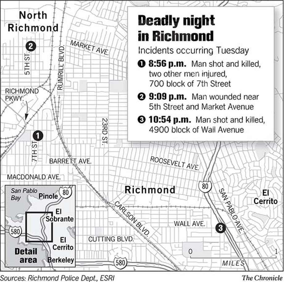 Deadly night in Richmond