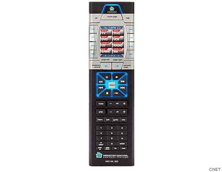 Masters of the universal remotes - Monster Cable Home Theater and Lighting Controller 300.  Ran on: 03-19-2007 Photo: CNET