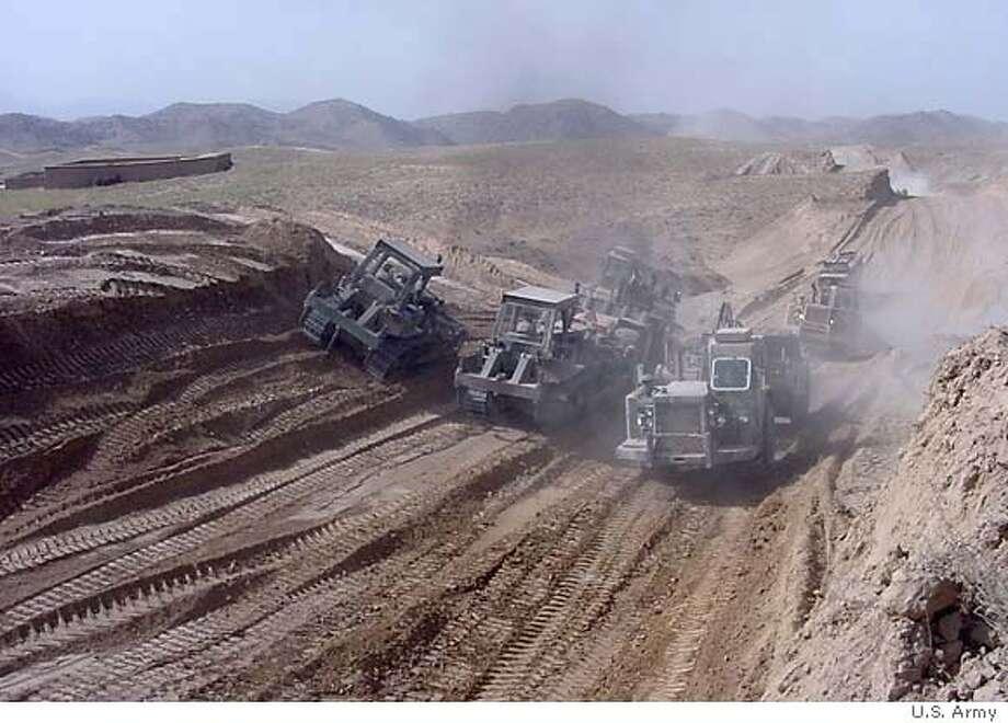 ROAD WARRIORS: U S  Forces in Afghanistan / Army engineers