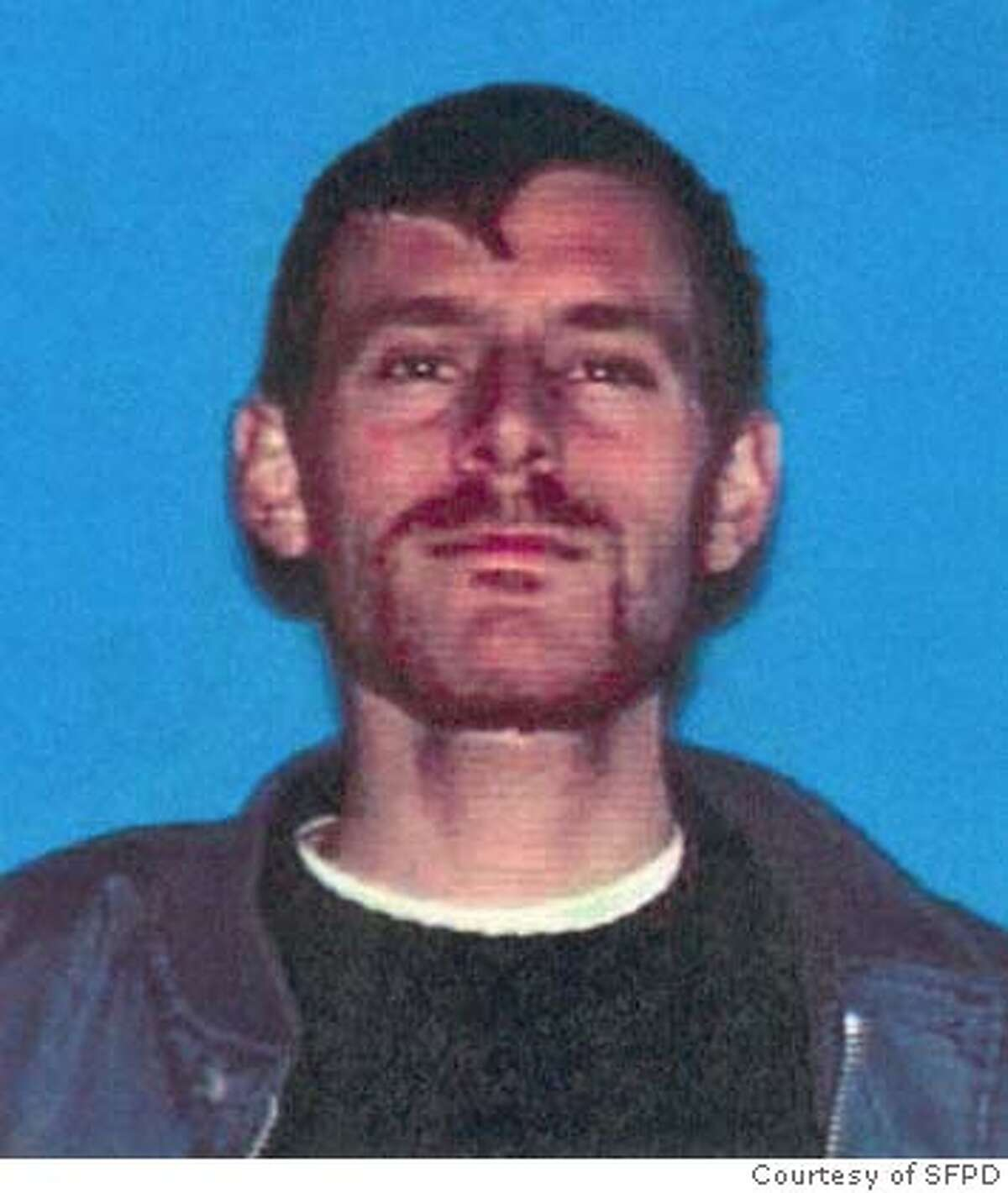 Police looking for Silver Warner, suspected of torching the apartment building where he lived at 52 Page Street in Hayes Valley Monday afternoon. Credit: Courtesy of San Francisco Police Department