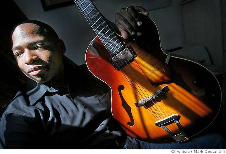 Profile of guitarist Terrence Brewer, who will perform at Yoshi's on 3/20. He's pictured her at his home in Alameda. photo taken on 3/14/07 ( Mark Costantini / The Chronicle ) Terrence Brewer (cq) MANDATORY CREDIT FOR PHOTOGRAPHER AND SAN FRANCISCO CHRONICLE/NO SALES-MAGS OUT Photo: Mark Costantini