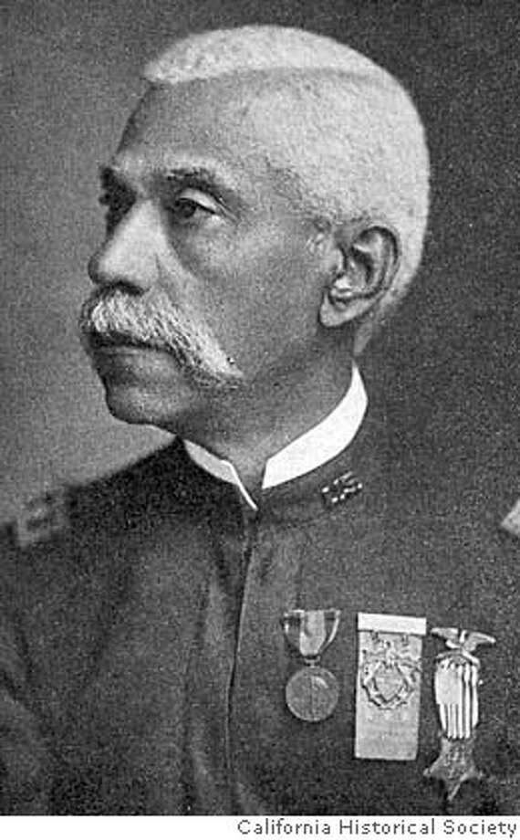 "Col. Allen Allensworth (NOTE...WE NEED PERMISSION TO RUN THIS PHOTO FOUND ON WEB - SEE INFO BELOW)  Allensworth State Park, California's oldest and strongest monument to black history and self-sufficiency may have a smelly neighbor soon - a huge dairy. After a ninth hearing on the issue, set for March 20, the Tulare County Board of Supervisors will make a final decision on whether to permit the dairy farm next to the state park which was founded in 1908 by Col. Allen Allensworth, a former slave. Photo courtesy of the California Historical Society  (DETAIL)-""Lieutenant-Colonel Allen Allensworth,"" in History of Tulare County California. Chicago: S.J. Clarke, 1926. California Historical Society, North Baker Research Library collection, FN-32157.  Source : http://www.californiahistory.net/8_pages/reform_allensworth.htm  Ran on: 01-08-2007  Col. Allen Allensworth, a former slave, founded Allensworth in Tulare County in 1908 as a place where blacks could live free of discrimin- ation.  Ran on: 01-08-2007  Col. Allen Allensworth, a former slave, founded Allensworth in Tulare County in 1908 as a place where blacks could live free of discrimin- ation. MANDATORY CREDIT FOR PHOTOG AND SF CHRONICLE/NO SALES-MAGS OUT Photo: Michael Maloney"