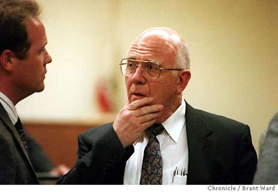 DOCTOR/C/02MAR94/CD/BW - D.r John , Accused of Molesting Patients, during a hearing. Photo by Brant Ward Photo: BRANT WARD