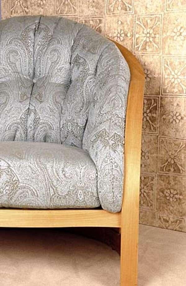 Taj hand-painted fabric by Nomi Outdoor Fabrics