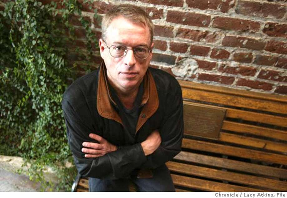 """QUILT_014_.jpg  AIDS activist Cleve Jones, creator of the AIDS quilt, at the """"Catch"""" , January 15, 2004, which was once the factory where the AIDS quilt first started, in San Francisco.  Lacy Atkins / The Chronicle MANDATORY CREDIT FOR PHOTOG AND SF CHRONICLE/ -MAGS OUT Photo: Lacy Atkins"""