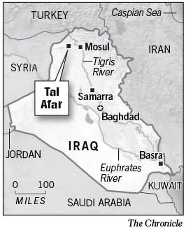 Tal Afar. Chronicle Graphic