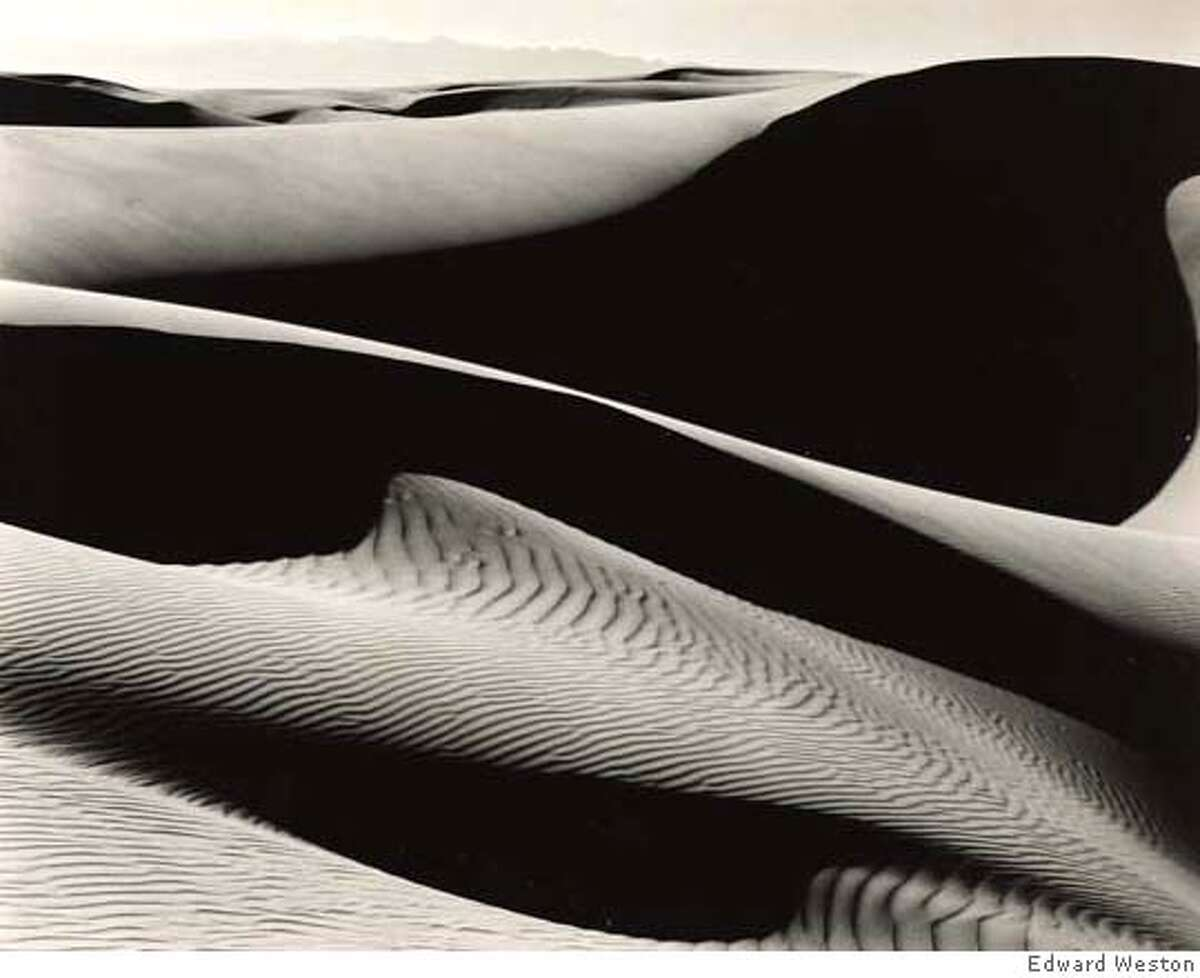 Photographs from the Private Collection of Margaret W. Weston Sale Date: 25-26 April 2007 Edward Weston 1886-1958 'dunes at oceano' 7 1/2 by 9 1/2 in. (19 by 24 cm.) $150,000 - $250,000