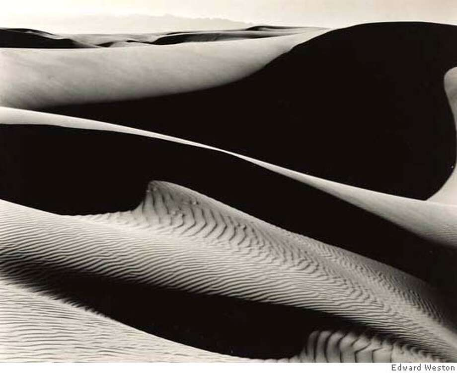 Photographs from the Private Collection of Margaret W. Weston Sale Date: 25-26 April 2007  Edward Weston 1886-1958  'dunes at oceano'  7 1/2 by 9 1/2 in. (19 by 24 cm.)  $150,000 - $250,000 Photo: Edward Weston