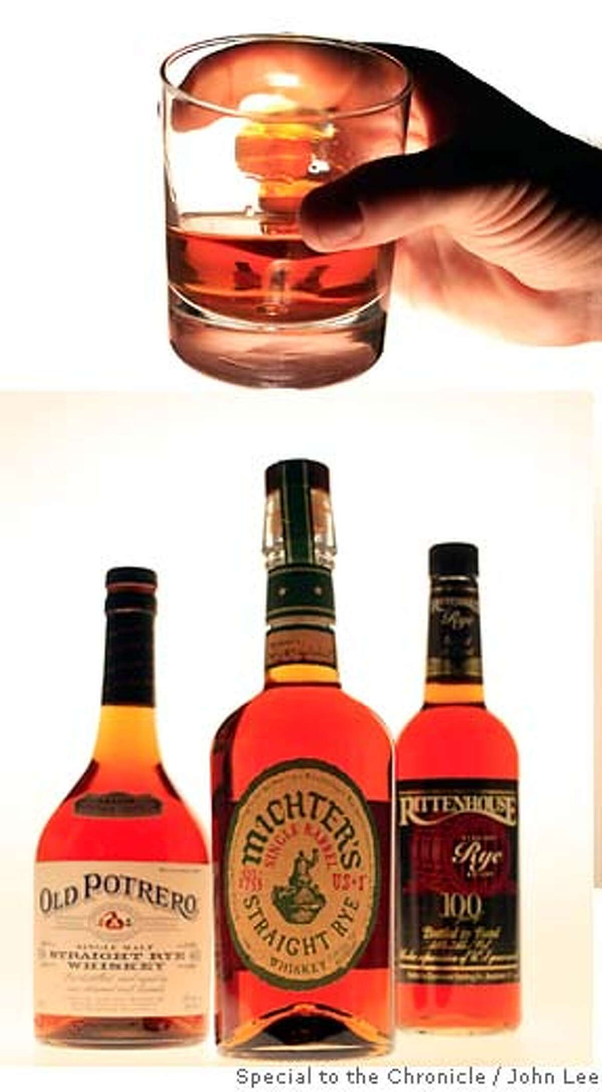 RYE16_01JOHNLEE.JPG For rye drink story. By JOHN LEE/SPECIAL TO THE CHRONICLE