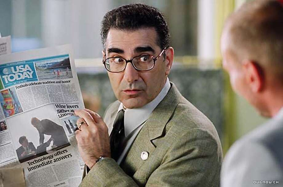 "Eugene Levy in ""The Man"" 2005 Photo: New Line Cinema"