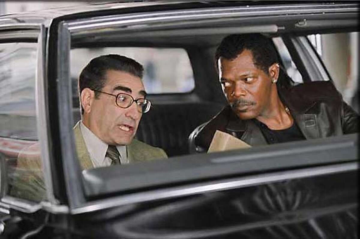 """Eugene Levy and Samuel L. Jackson in """"The Man"""" 2005"""