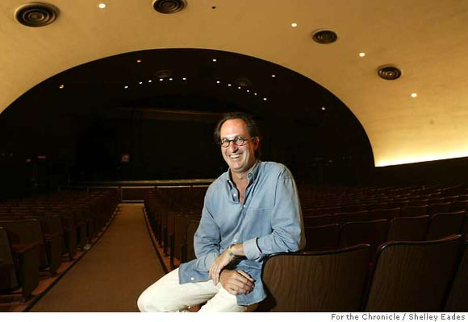 MORRISON07011se.JPG On 8/31/05 in San Francisco. Saul Gropman, photographed in McKenna Theater at San Francisco State University, is the current director of the Morrison Artists Series. Chronicle Photo by Shelley Eades Photo: Shelley Eades