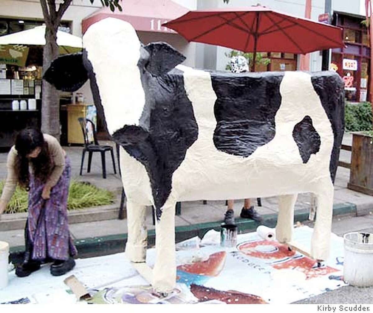 the late Sally Cow submitted by artist and creator Kirby Scudder.