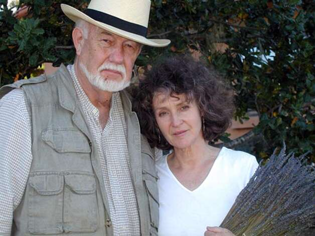 Donald Harms and Patricia Damery, husband and wife owners of Harms Vineyards and Lavender Fields. Photo credit: Courtesy Casey Pizzitola Photo: Courtesy Casey Pizzitola