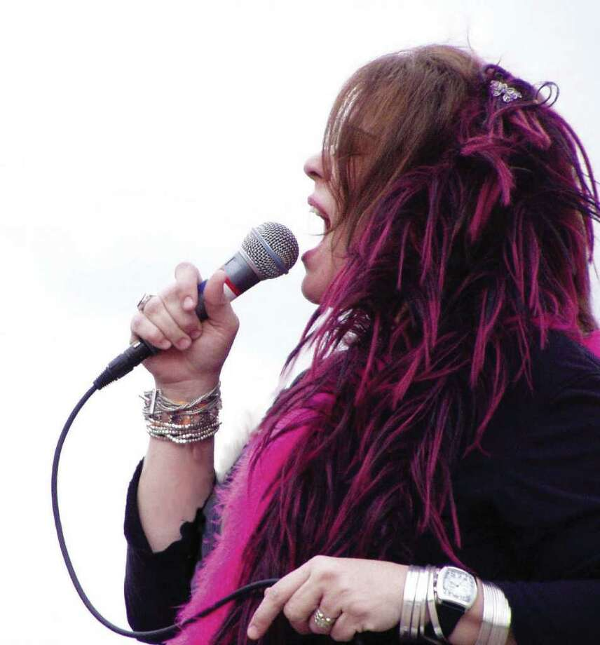 Caption: Kozmic Pearl celebrates Janis Joplin's birthday with a tribute concert Friday, Jan. 19 at the Cosmos Café. Credit: David Sanders Photo: David Sanders / handout