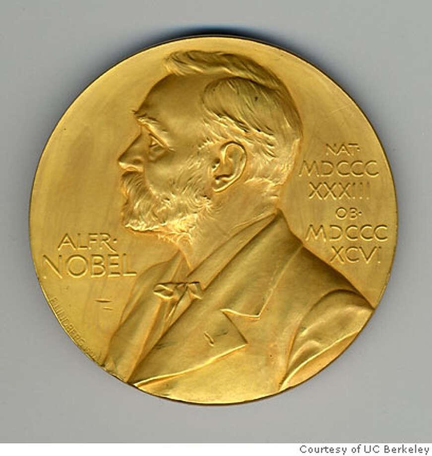 Nobel Prize medal. Credit: Courtesy of UC Berkeley Photo: Courtesy Of UC Berkeley