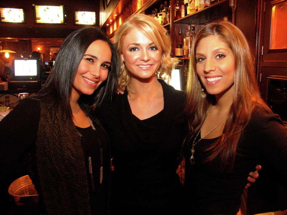 Nicole Garcia, from left, Jessica Kirkland and Crystal Langley Photo: Jordan Graber