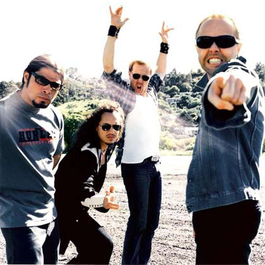 METALLICA04 For METALLICA04, Datebook; ; 5/28/03 in . / HO