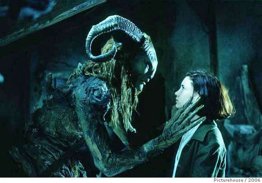 Ivana Baquero in Picturehouse's Pan's Labyrinth - 2006 Ran on: 12-29-2006  Ofelia (Ivana Baquero) encounters the title faun (Doug Jones) in &quo;Pan's Labyrinth,&quo; a fairy tale for adults.  ALSO Ran on: 01-04-2007  Clive Owen (left) is a disillusioned bureaucrat in &quo;Children of Men,&quo; with Julianne Moore as the opposition leader. Photo: Picturehouse