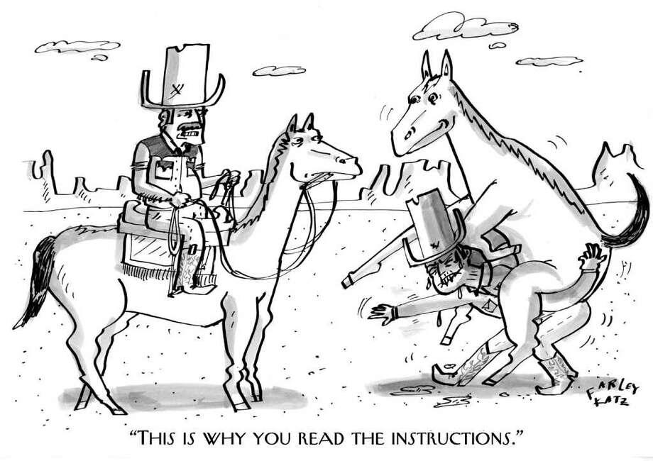 Farley Katz cartoon for The New Yorker.