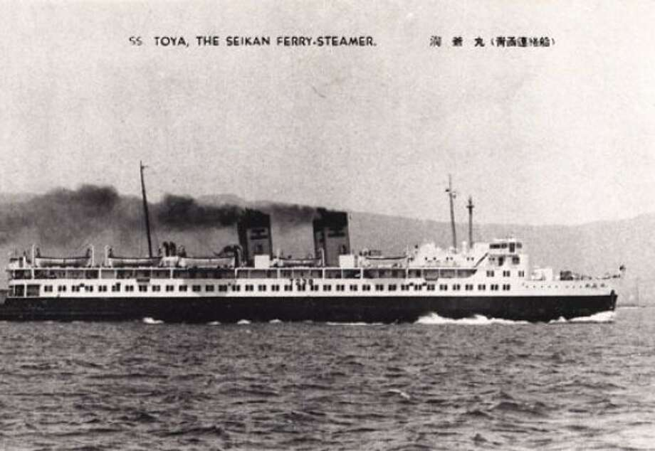 The Toya Maru was a Japanese passenger ferry that sank during Typhoon  Marie in 1954. Though the exact number of casualties is unknown, it is  in excess of 1,100.