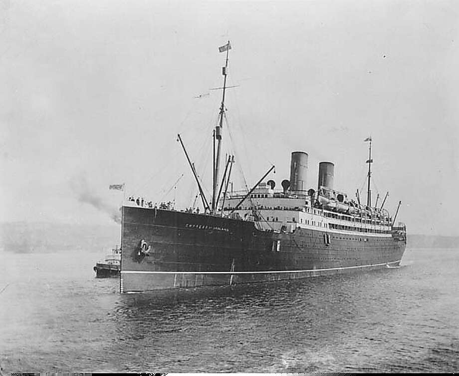In 1914, the Empress of Ireland sank in the St. Lawrence River after 