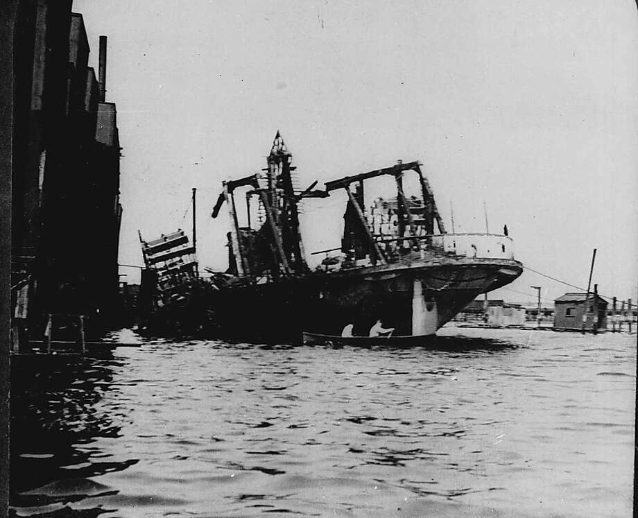 Pictured above in 1904, the excursion boat General Slocum lies beached in New York City's East River following a fire and resulting panic. The disaster cost the lives of 1,030 mostly German immigrants. It was the worst mass casualty incident in New York City until the September 11, 2001 terrorist attacks.