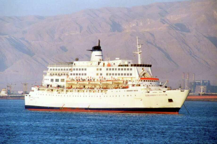 In 2006, the passenger ship Al Salam Boccaccio 98 was carrying 1,300 people when it sank 40 miles off the Egyptian port of Hurghada. Only 388 passengers and crew survived. Photo: YVON PERCHOC, ASSOCIATED PRESS / AP2006