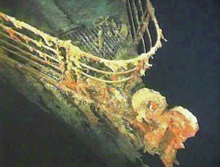 "Perhaps the most famous maritime disaster of all time, the ""unsinkable"" RMS Titanic sunk in the North Atlantic on its maiden voyage between Europe and the United States. Over 1,500 passengers perished. Photo: AP"