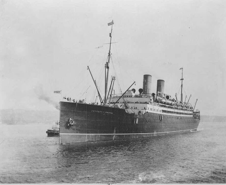In 1914, the Empress of Ireland sank in the St. Lawrence River after colliding with another ship. The official casualty count was 1,012. Photo: Wikipedia Commons