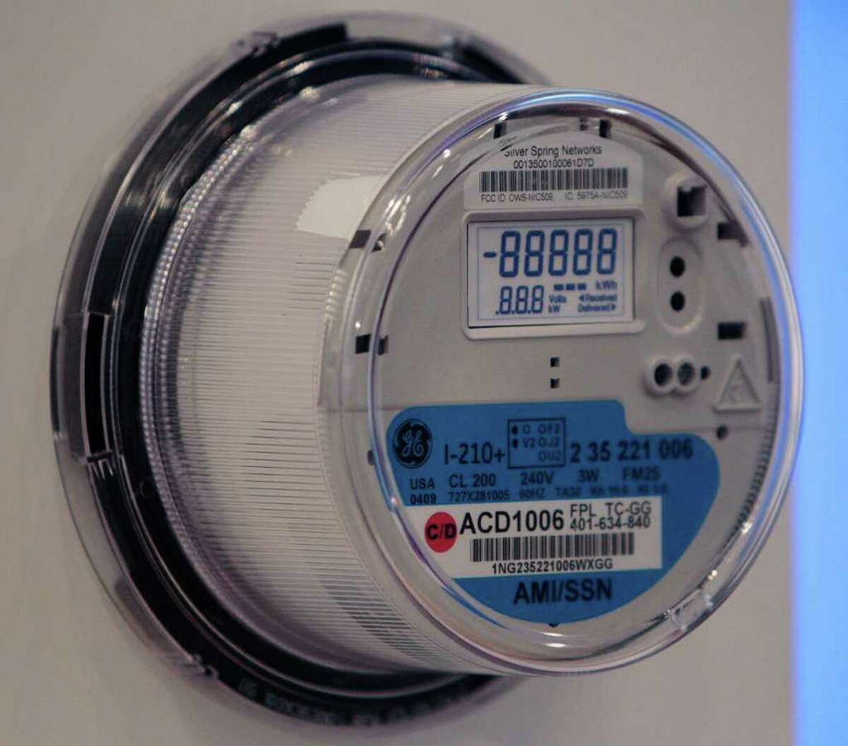 """Consert, which has moved its headquarters to San Antonio, makes energy-saving software that is used in conjunction with """"smart meters"""" like this one."""