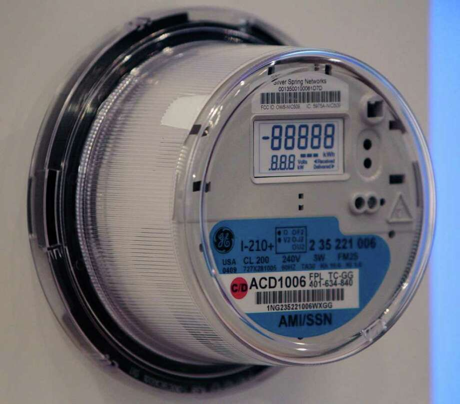 "Consert, which has moved its headquarters to San Antonio, makes energy-saving software that is used in conjunction with ""smart meters"" like this one.