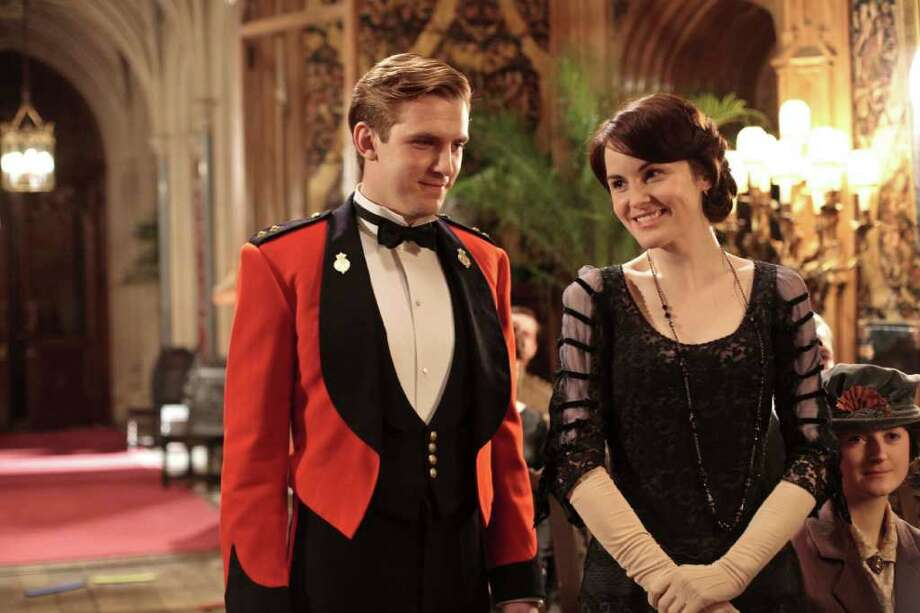 Downton Abbey, starring Dan Stevens and Michelle Dockery, has become a huge hit in the U.S. Photo: Carnival Film & Television Ltd.