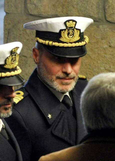 Coast Guard Capt. Gregorio De Falco was on duty during the incident. Photo: Giacomo Aprili / AP